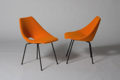 JG chairs, pair