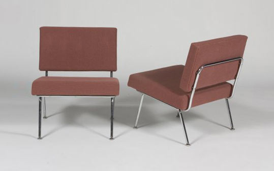 Lounge chairs (model no. 31), pair