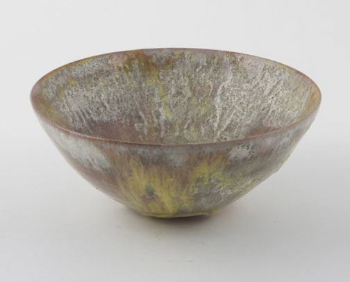 Glazed ceramic bowl