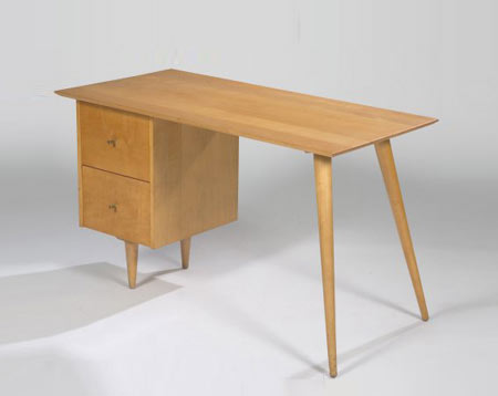 Planner Group desk by Los Angeles Modern Auctions