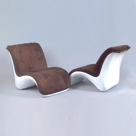 Lounge chair 'Visiona II'