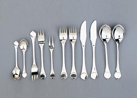 Cutlery 'Lotus' by Quittenbaum