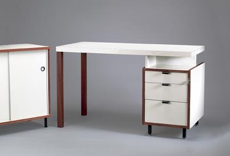 Schreibtisch mit kleinem Sideboard M-125