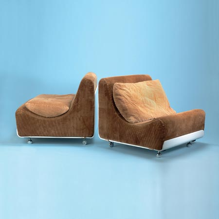 Lounge chair 'Orbis'