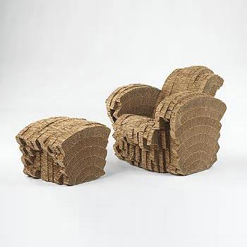 Little Beaver chair/ottoman