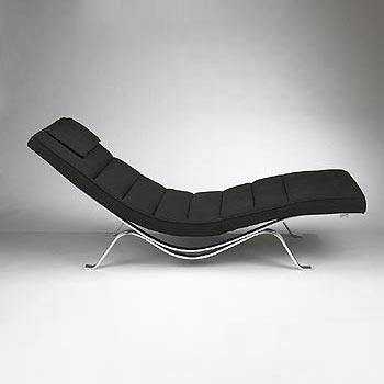 Chaise lounge, model #5490