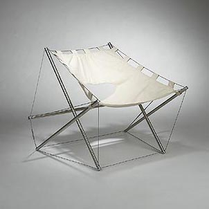 Tension lounge chair