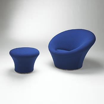 F 560 Mushroom Chair/Ottoman