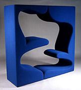 living tower verner panton. Black Bedroom Furniture Sets. Home Design Ideas