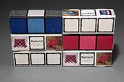Six 'Pantonaef' brick packages
