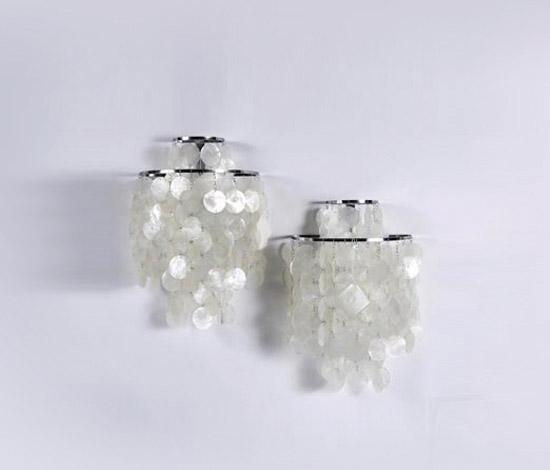 Pair of wall lamps (model no. Fun2 WM)