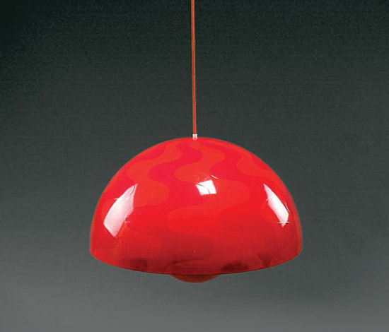 Large 'Flower-pot' ceiling light
