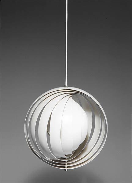 'Moon' ceiling light