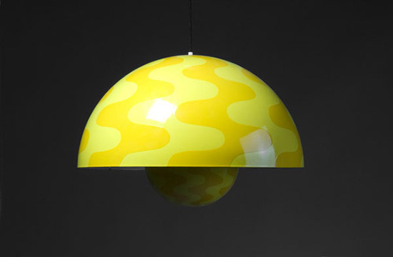Large 'Flower pot' ceiling light