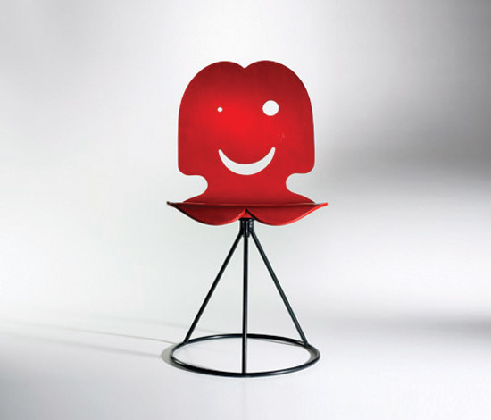 Prototype Funny chair by Wright