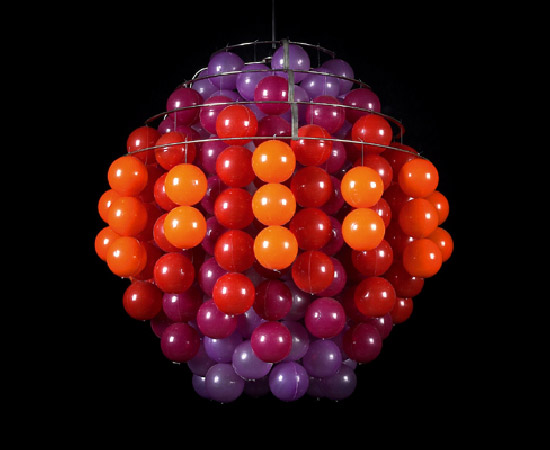 """Ball Lamp"" -Hängelampe Typ H di Dorotheum"