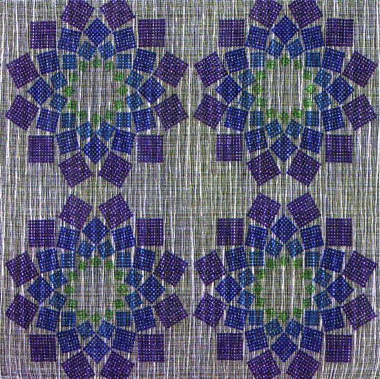 Sample collection of Mira-X textile patterns by Dorotheum