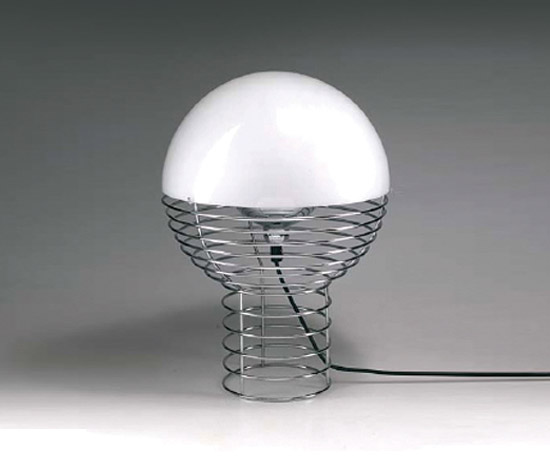 Quittenbaum-'Wire-lamp'