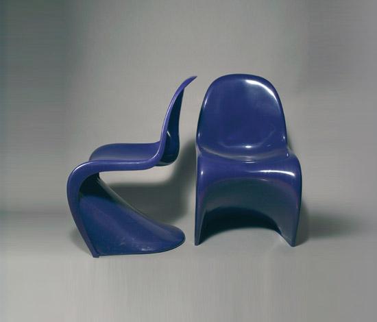 4 'Panton' chairs by Quittenbaum