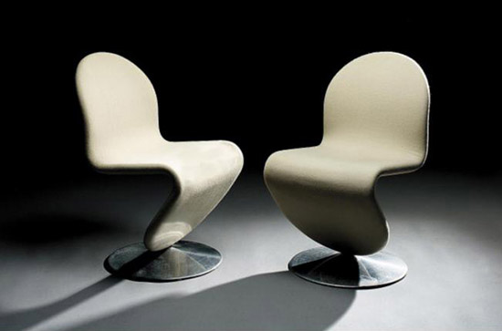 'System 1-2-3' 3 side chairs, 9 armchairs de Sotheby´s