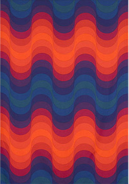 Wave fabric from the Decor I collection de Wright