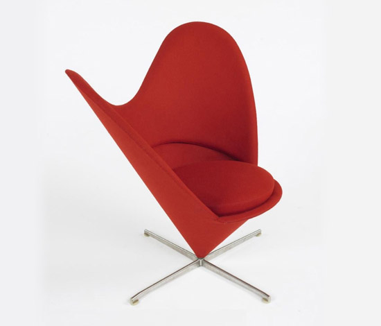 Heart Cone chair by Wright