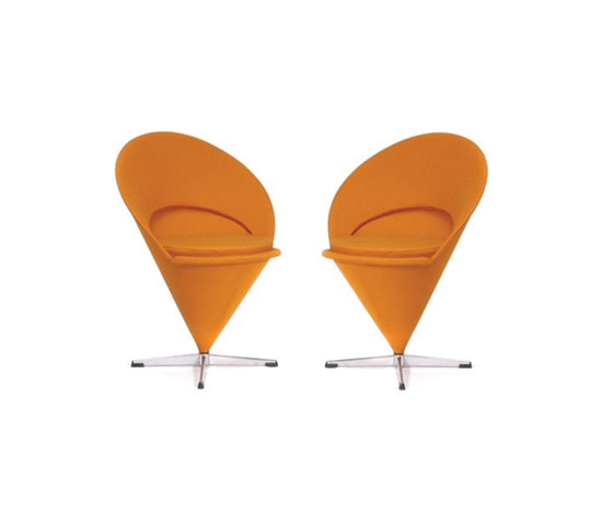 Pair of 'Cone-Chairs'