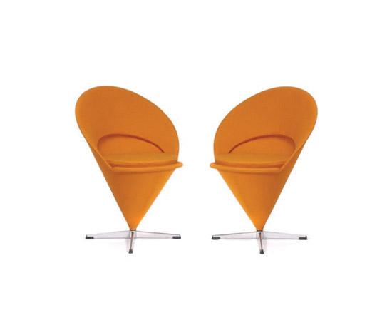 Pair of 'Cone-Chairs' di von Zezschwitz