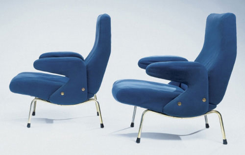 Pair of 'Delfino' chairs