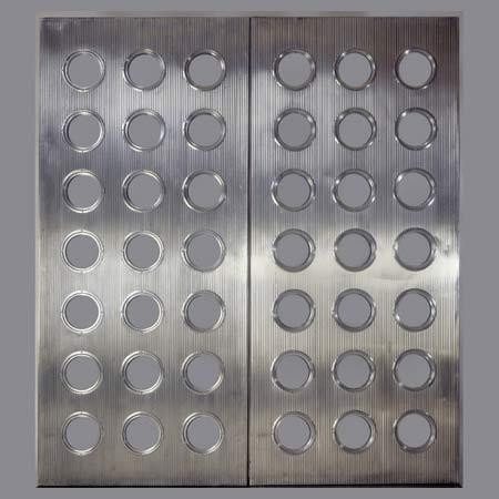 Pair of 'Porthole' door panels