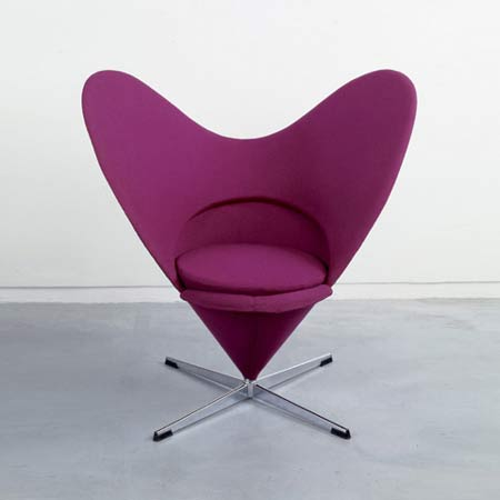 Heart Cone Chair, Model No. K3