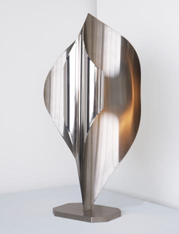 Sculptural floor lamp