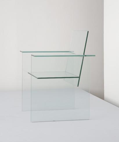 Glass Chair chair