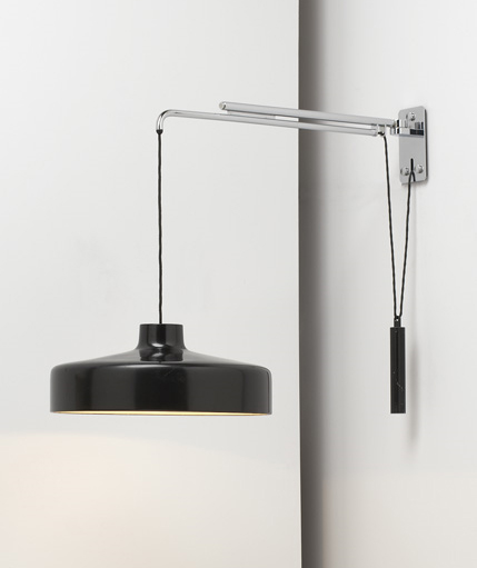 Adjustable hanging lamp