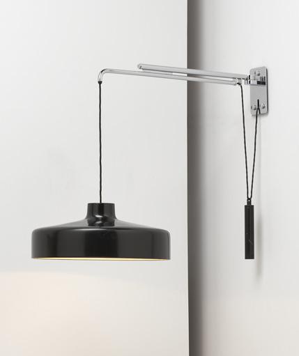 Adjustable hanging lamp