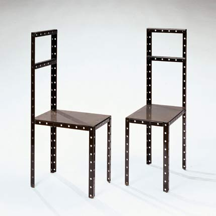 "Pair of ""Hamletmachine"" Chairs"