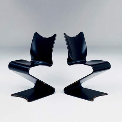 Pair of 'S' Chairs