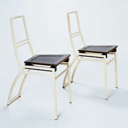 Pair of side chairs de Phillips