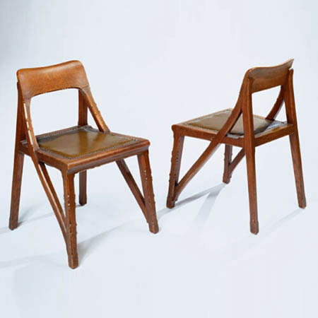 Pair of chairs by Phillips