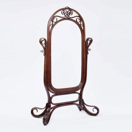 Standing mirror, model no. 9951