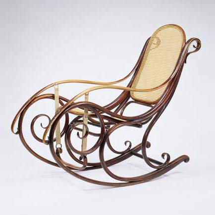 Rocking chair, model no. 1
