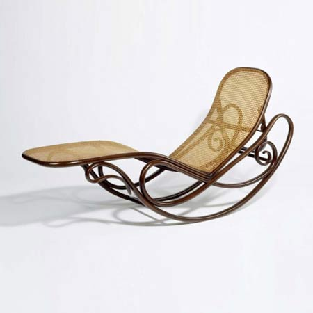 Rocking chaise longue, model no. 7500