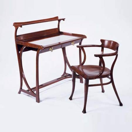 Desk and chair, model no. 1010,