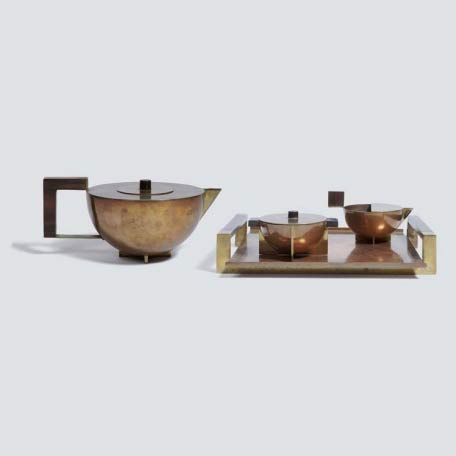 Four piece tea set