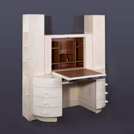 Fall-Front Cabinet Desk