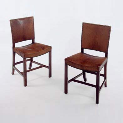 Pair of 'Barcelona' chairs