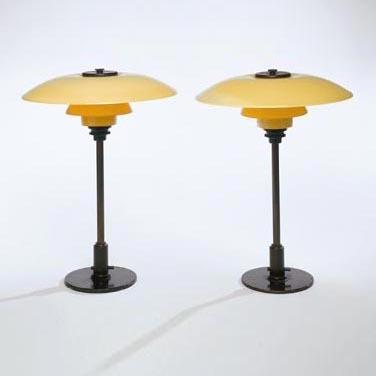 PH Table Lamps, Model No. 31/2 de Phillips