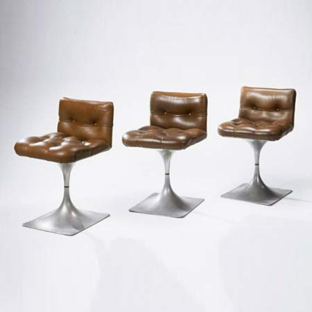 Three 'Module 400' stools