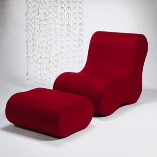 Alvar lounge chair/ottoman
