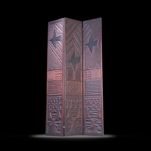Folding screen by Rago Arts and Auction Center